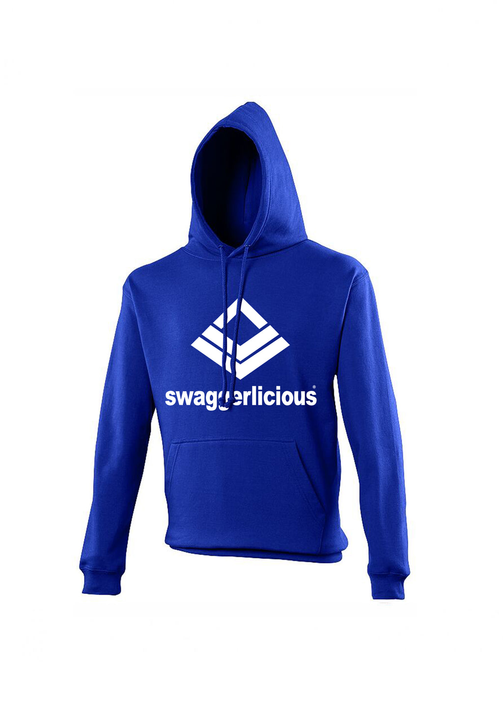 Swaggerlicious Classic Sports Blue Hoodie - swaggerlicious-clothing.com