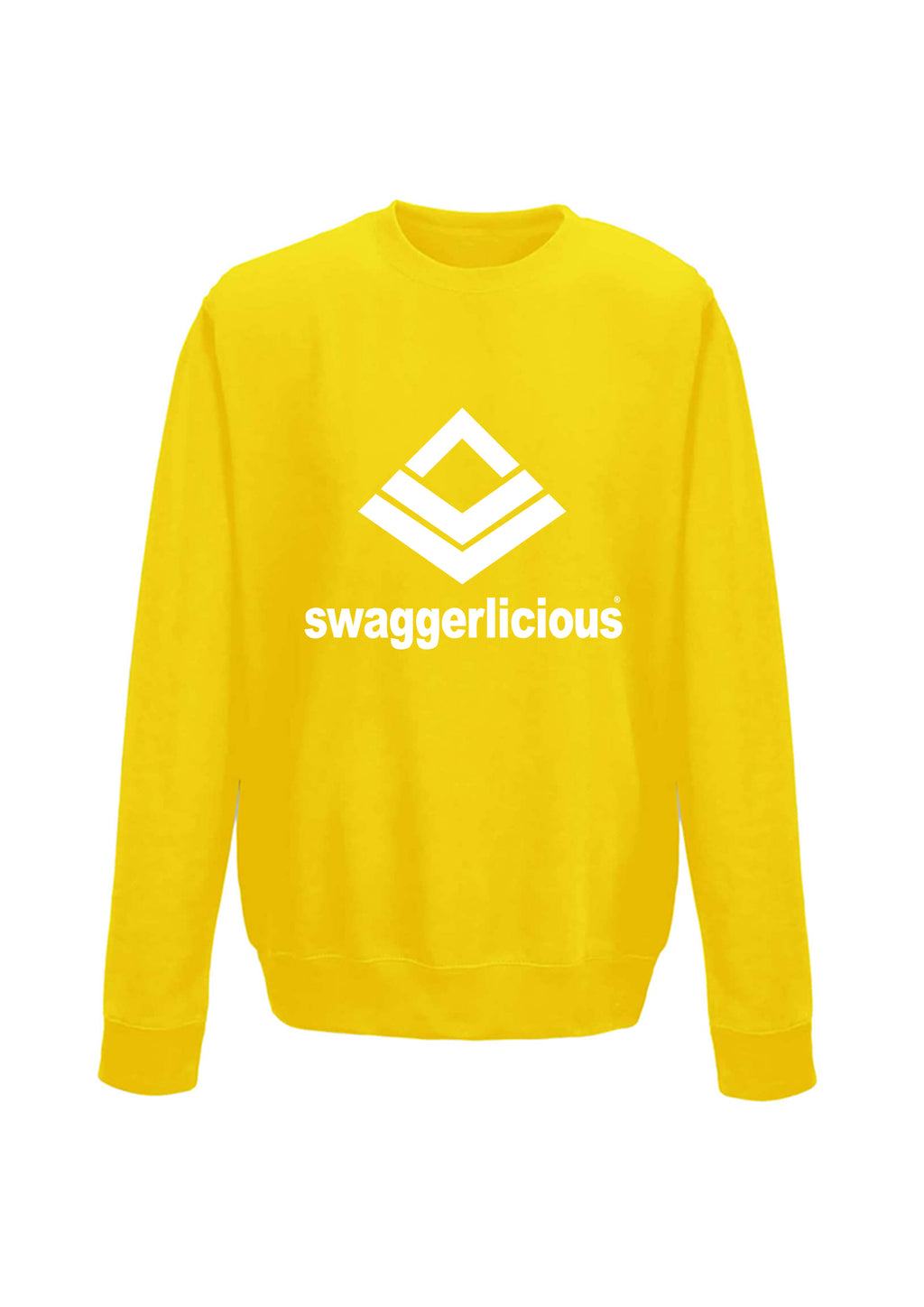 Swaggerlicious Classic Sports Yellow Sweatshirt - swaggerlicious-clothing.com