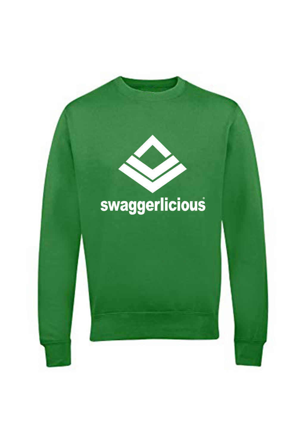 Swaggerlicious Classic Sports Green Sweatshirt - swaggerlicious-clothing.com