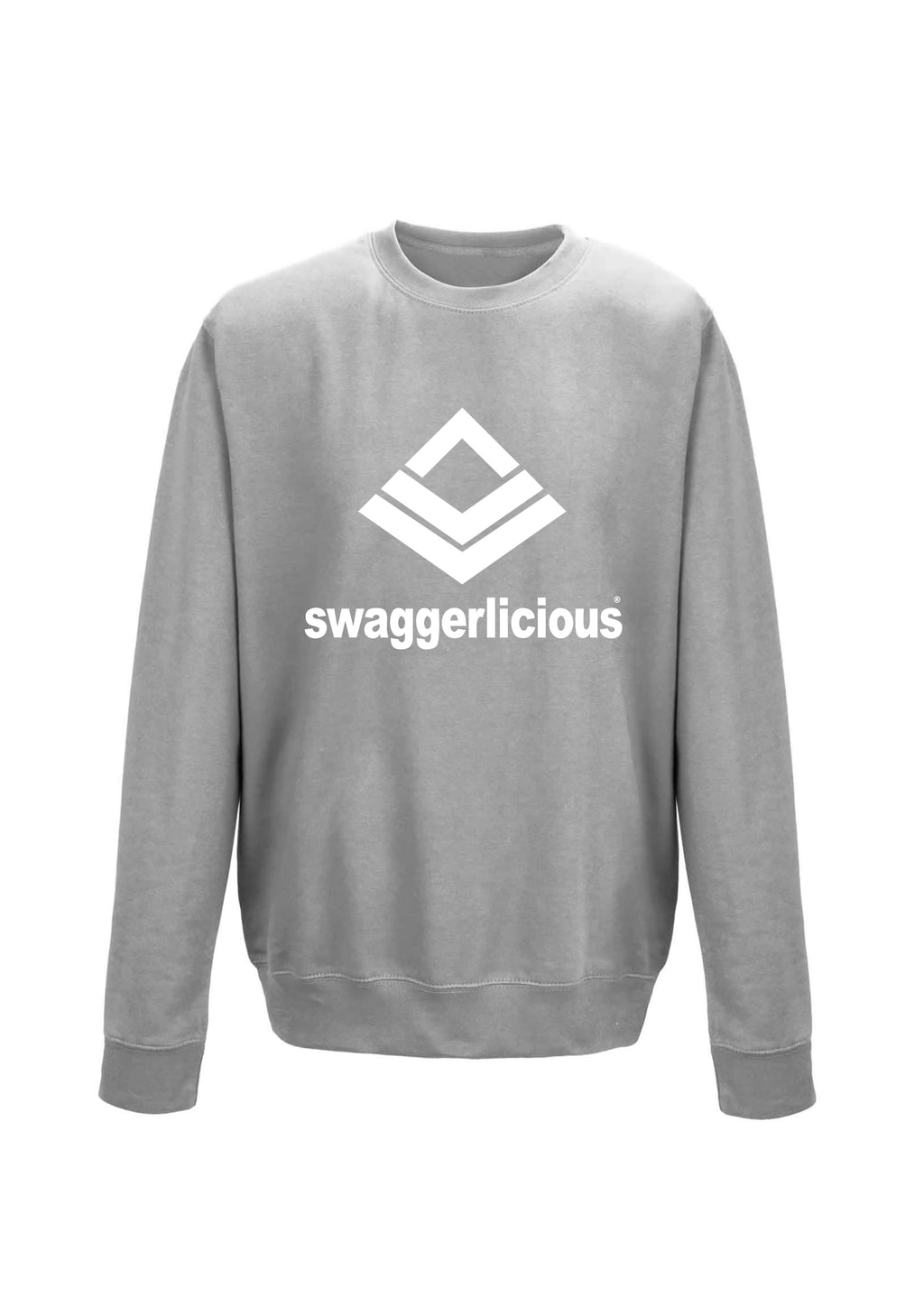 Swaggerlicious Classic Sports Grey Sweatshirt - swaggerlicious-clothing.com