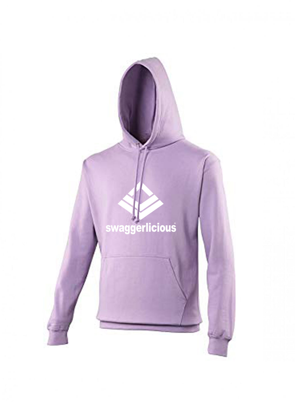 Swaggerlicious Classic Sports Pale Purple Hoodie - swaggerlicious-clothing.com