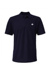Swaggerlicious Navy Simple Polo Shirt with White Logo