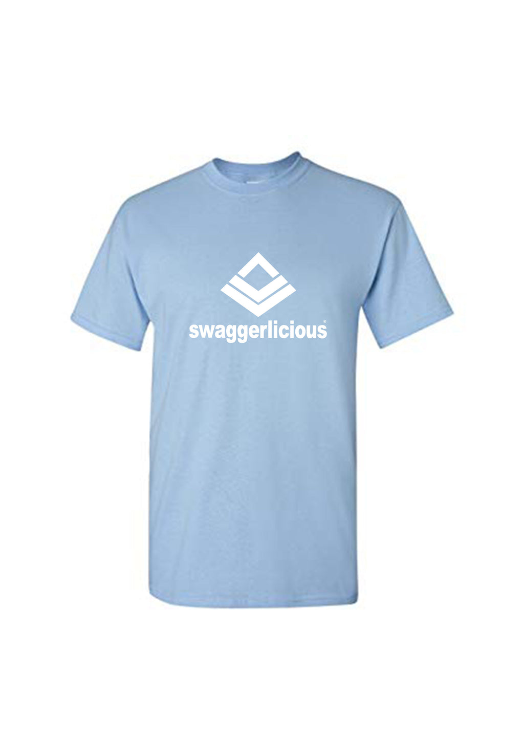 Swaggerlicious Classic Sky Blue Sports Tee - swaggerlicious-clothing.com