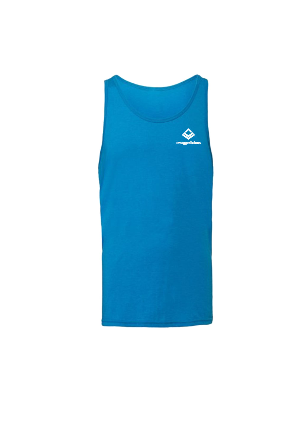 Swaggerlicious Classic Royal Tank with Mini Logo - swaggerlicious-clothing.com
