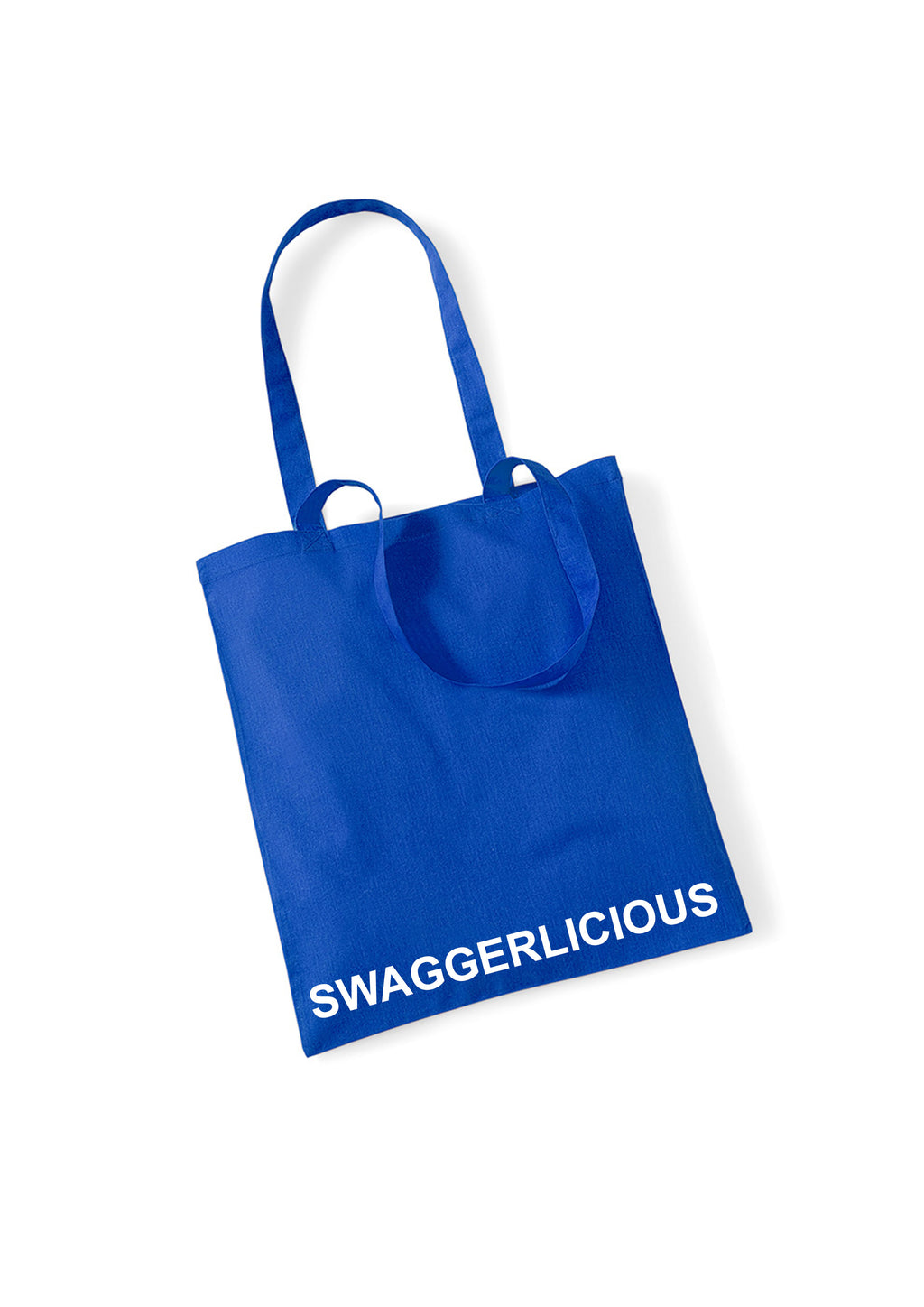 Swaggerlicious Blue Tote Bag - swaggerlicious-clothing.com