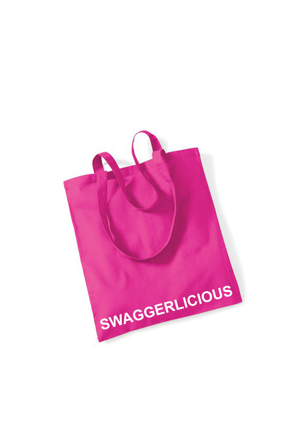 FUCHSIA SWAGGERLICIOUS TOTE BAG - swaggerlicious-clothing.com