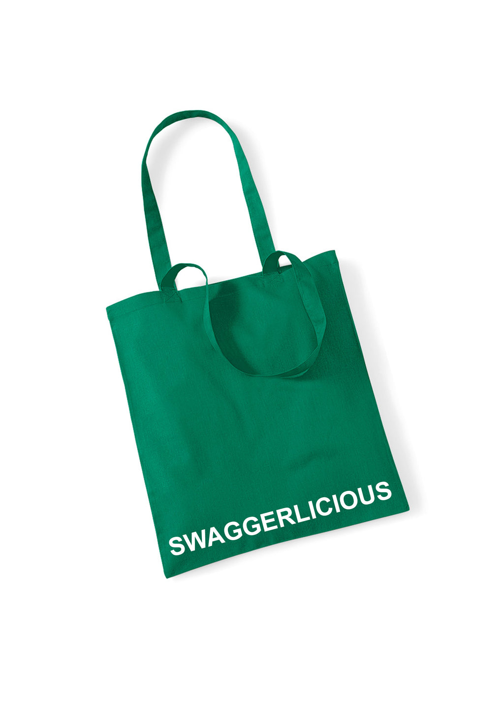 GREEN SWAGGERLICIOUS TOTE BAG - swaggerlicious-clothing.com