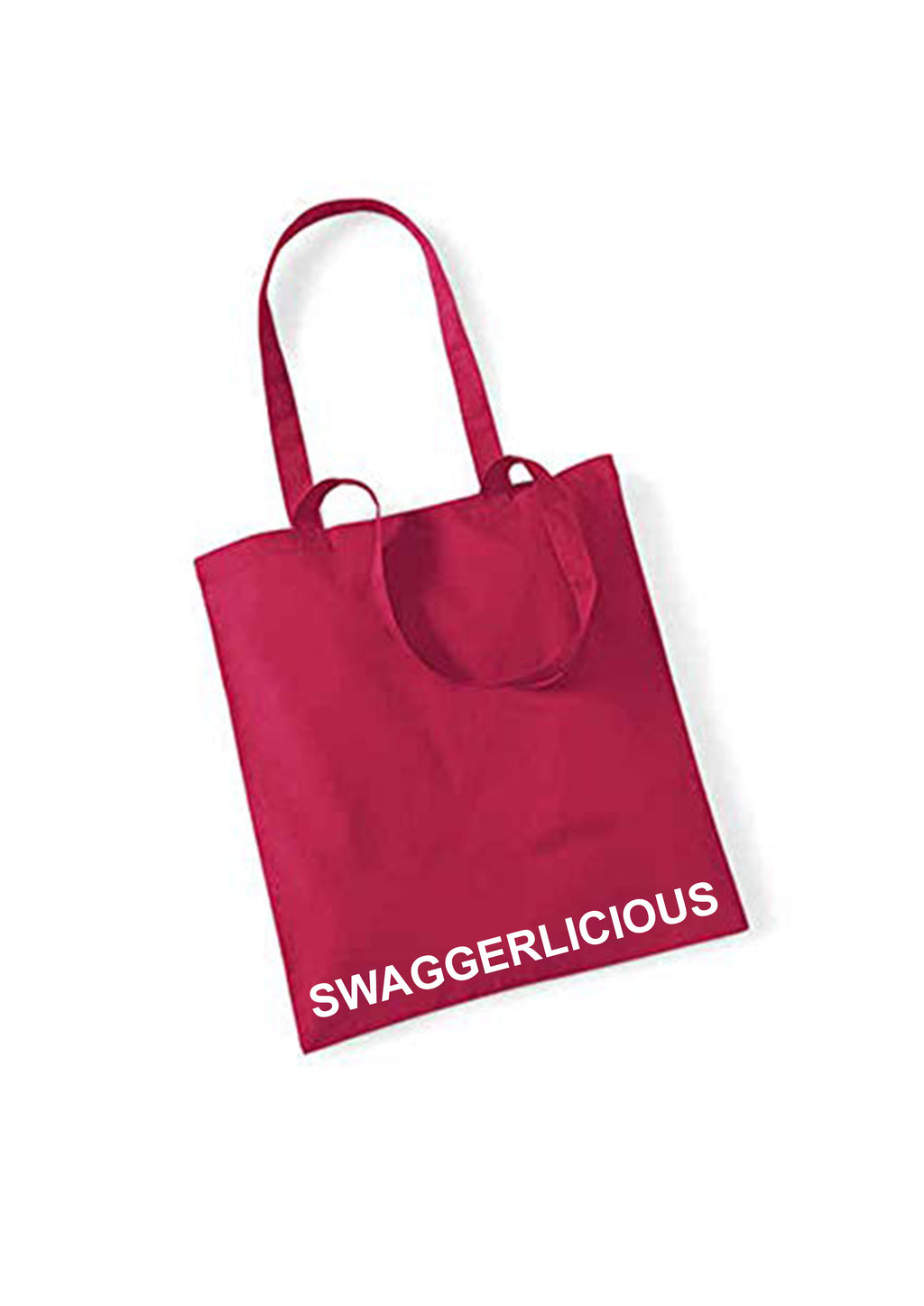 MAGENTA SWAGGERLICIOUS TOTE BAG - swaggerlicious-clothing.com