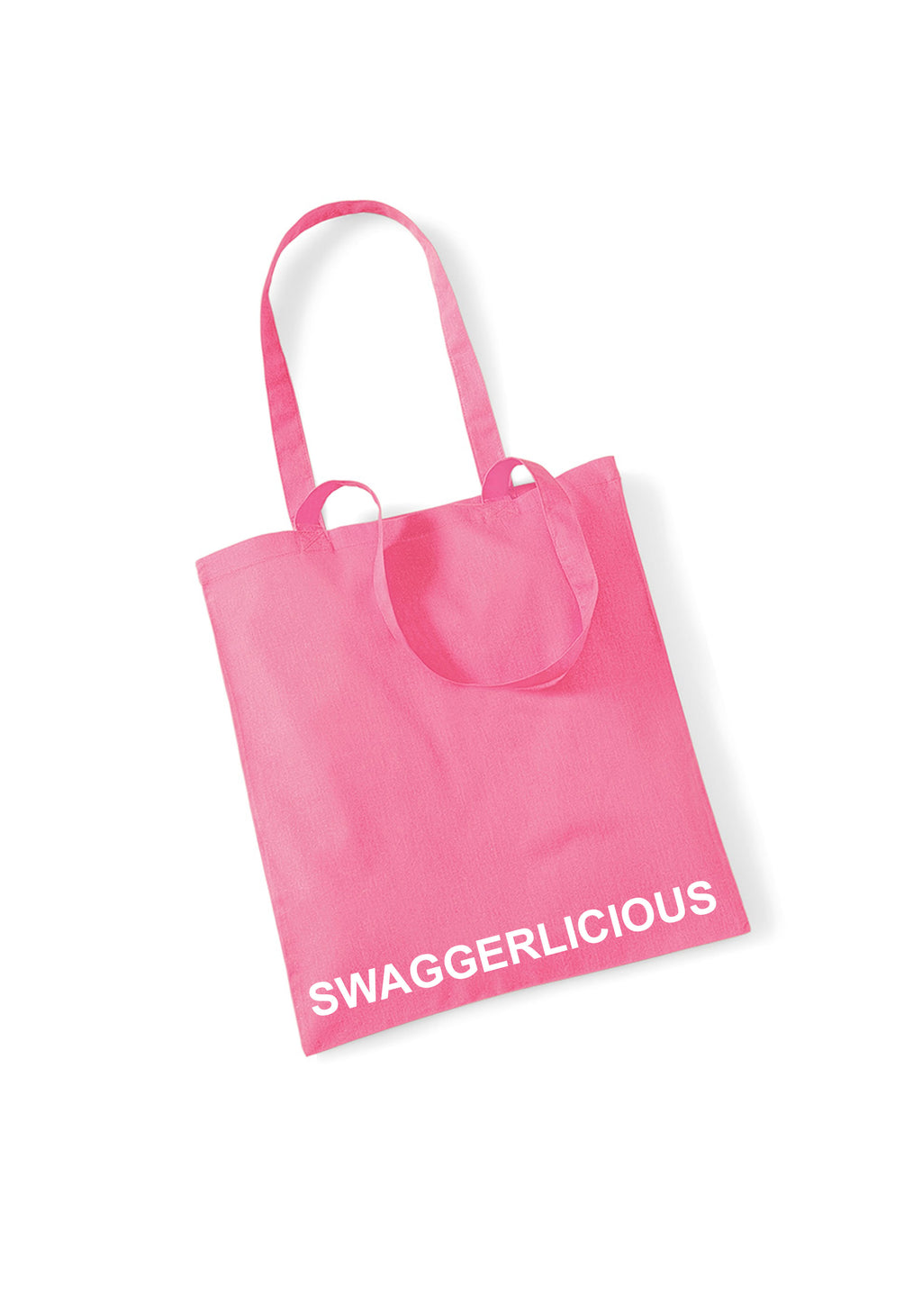 PINK SWAGGERLICIOUS TOTE BAG - swaggerlicious-clothing.com