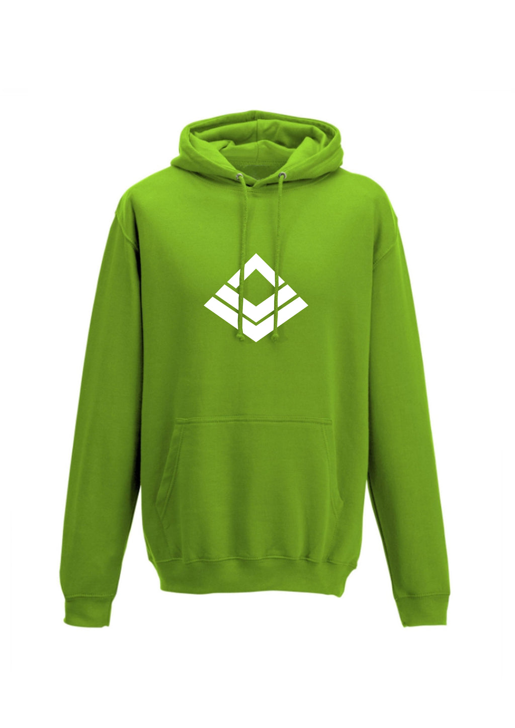 Leaf Green Swaggerlicious London Casual Hoodie - swaggerlicious-clothing.com