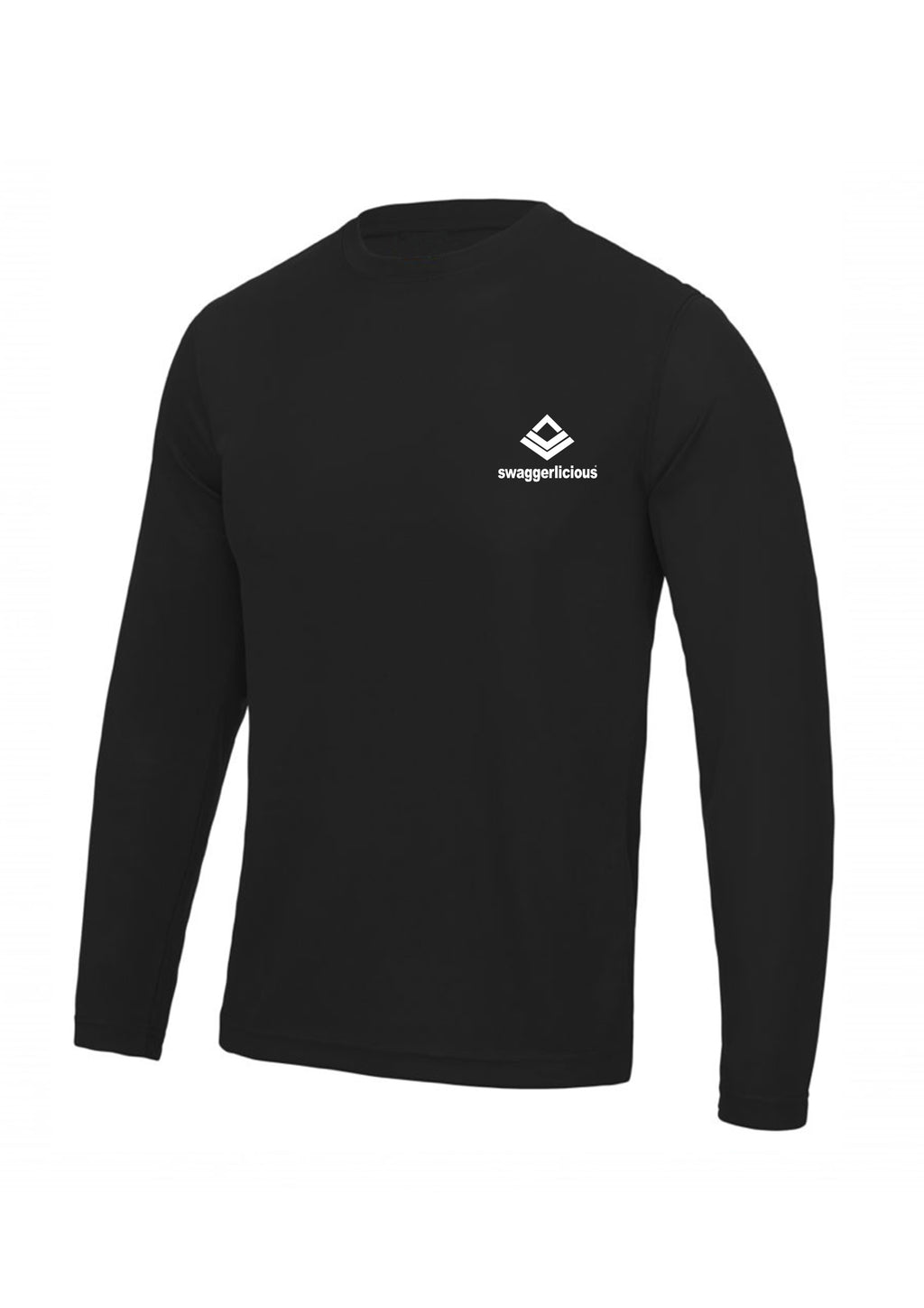 Swaggerlicious Mens Active Gym Gym Long Sleeve Top