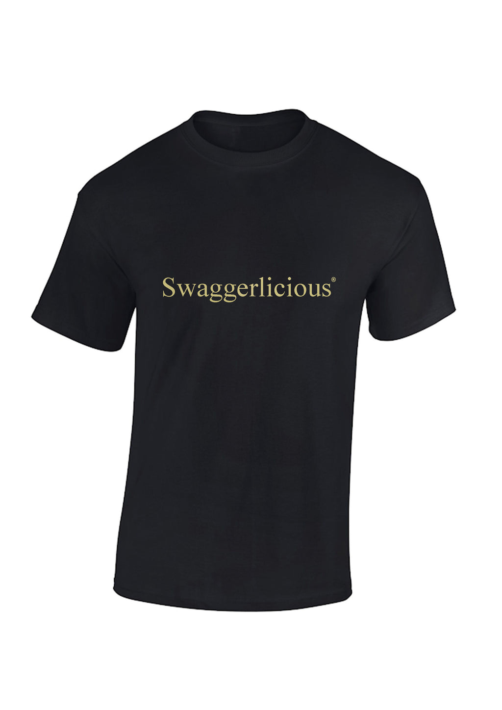 Swaggerlicious Smart Tee With Metallic Gold Logo