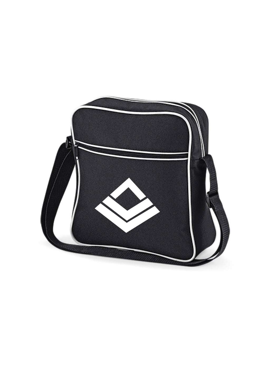 Swaggerlicious Active Black and White  Flight Bag - swaggerlicious-clothing.com
