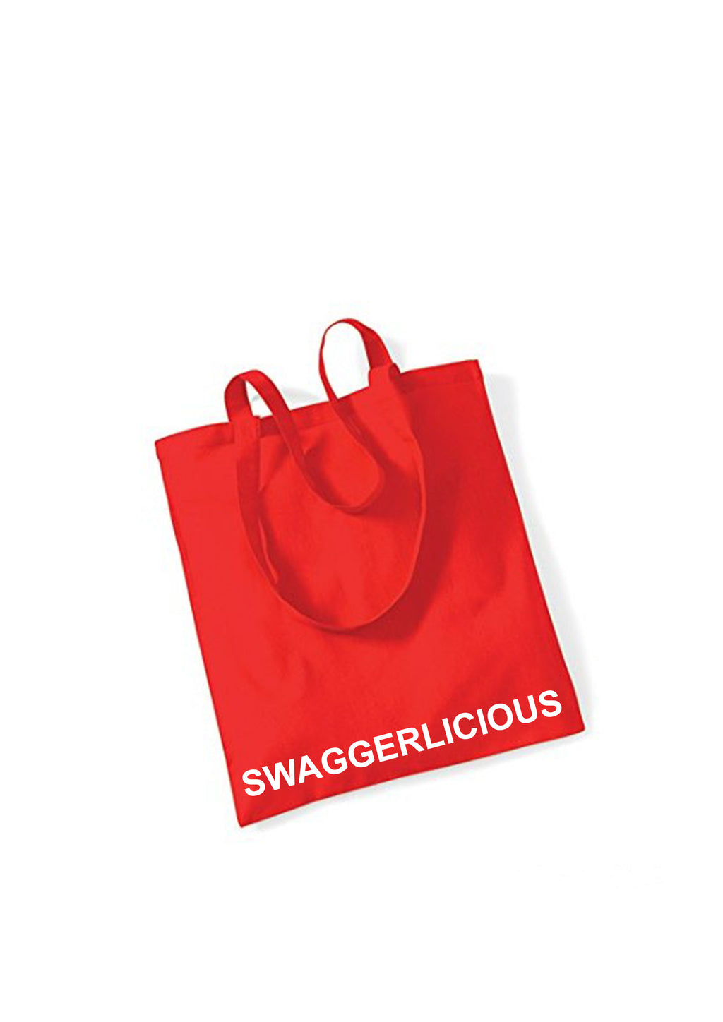 Swaggerlicious Bright Red Tote Bag - swaggerlicious-clothing.com