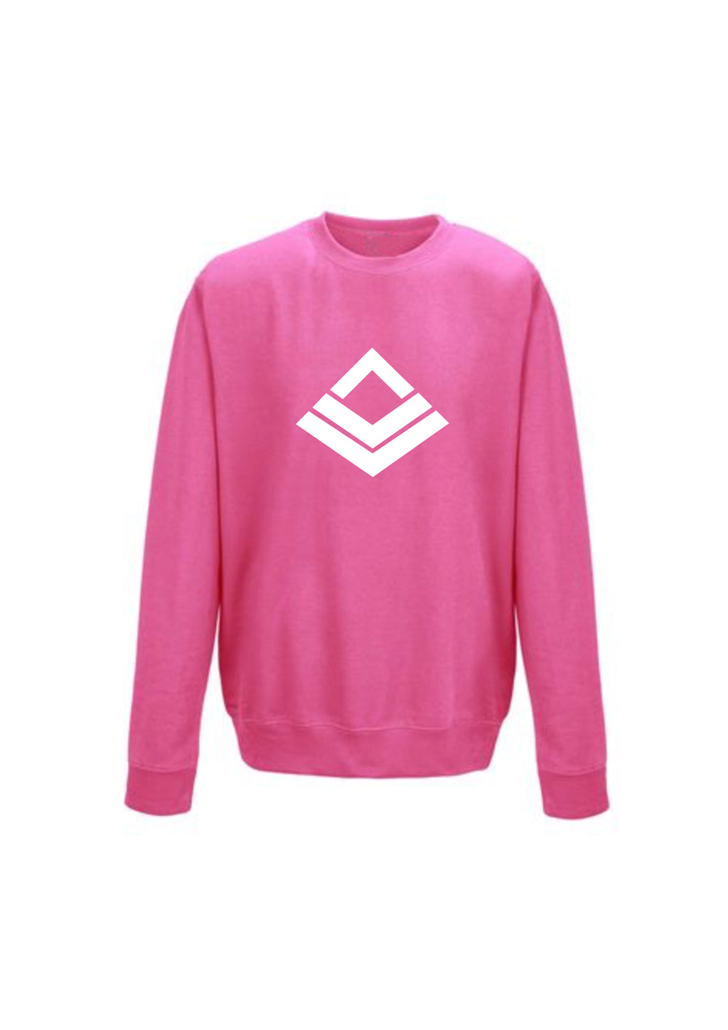 Candy Floss Swaggerlicious White Symbol Sweatshirt - swaggerlicious-clothing.com