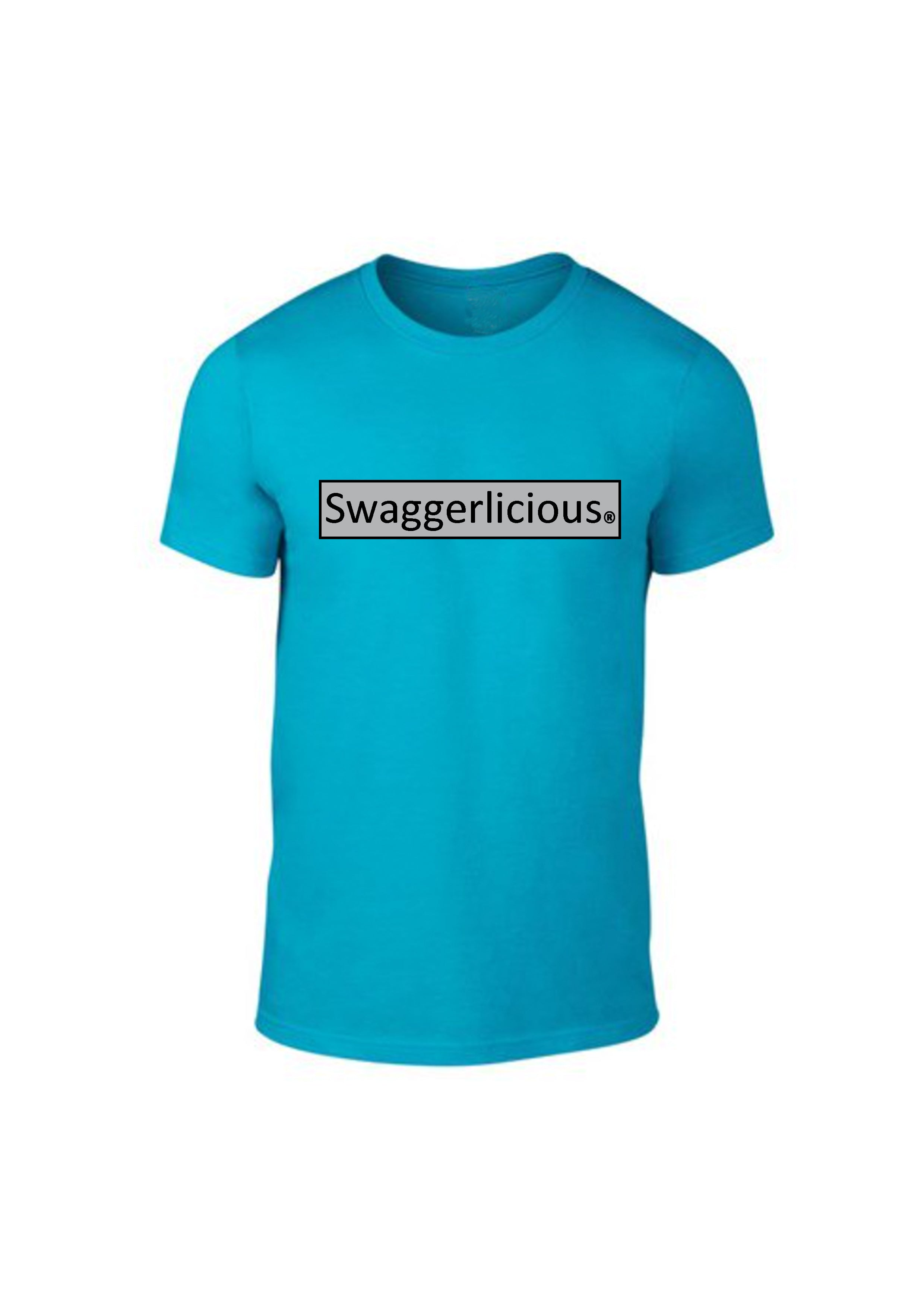 Caribbean Blue Swaggerlicious Crisp Tee - swaggerlicious-clothing.com