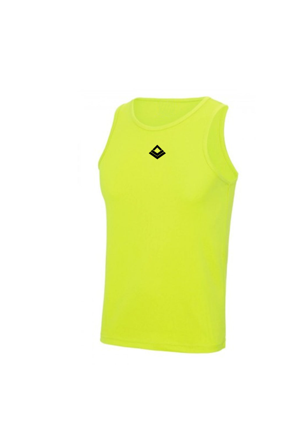 SWAGGERLICIOUS COOL TRAINING TANK TOP-ELECTRIC YELLOW - swaggerlicious-clothing.com