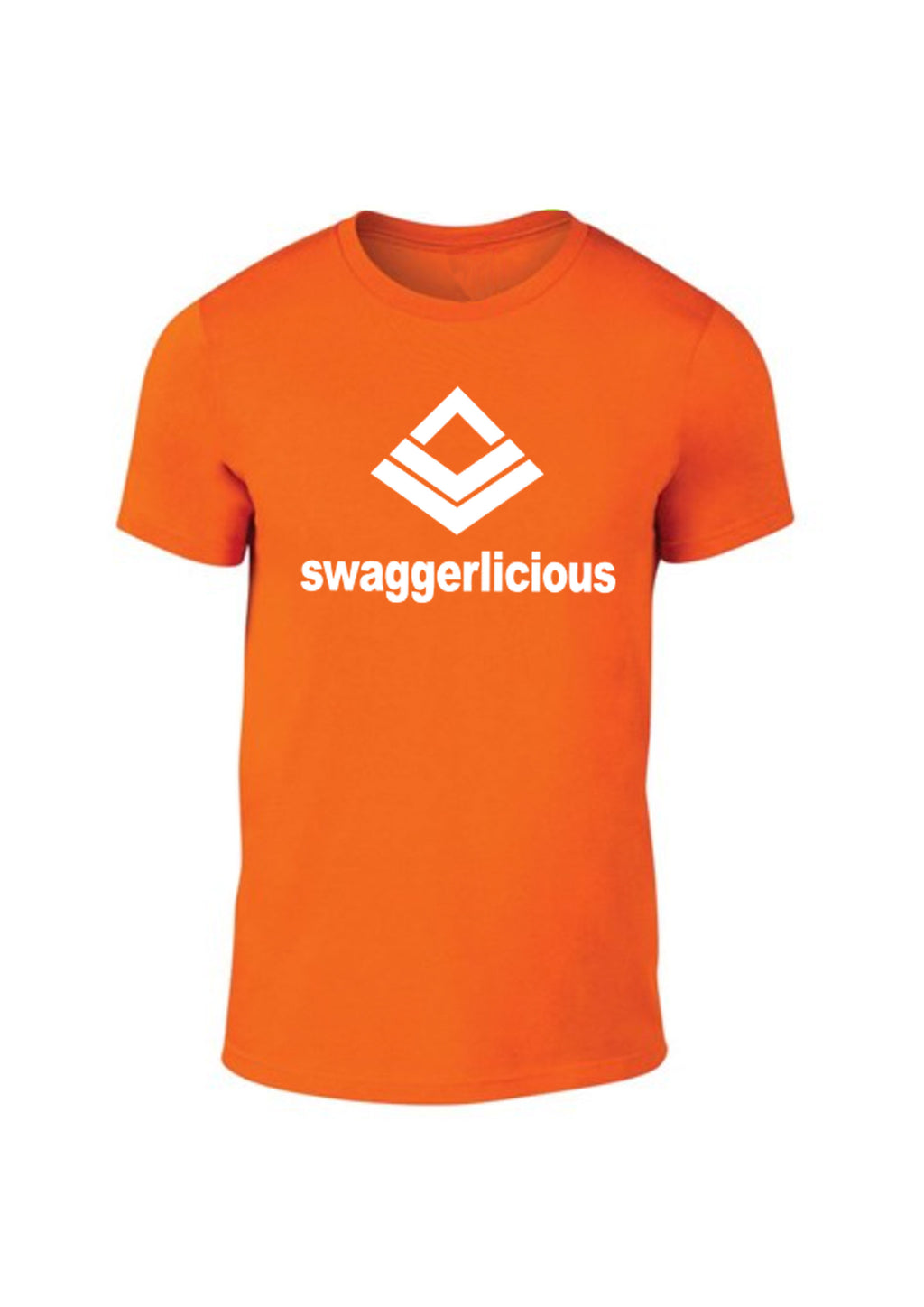 Swaggerlicious Classic Neon Orange Light Sport Tee - swaggerlicious-clothing.com