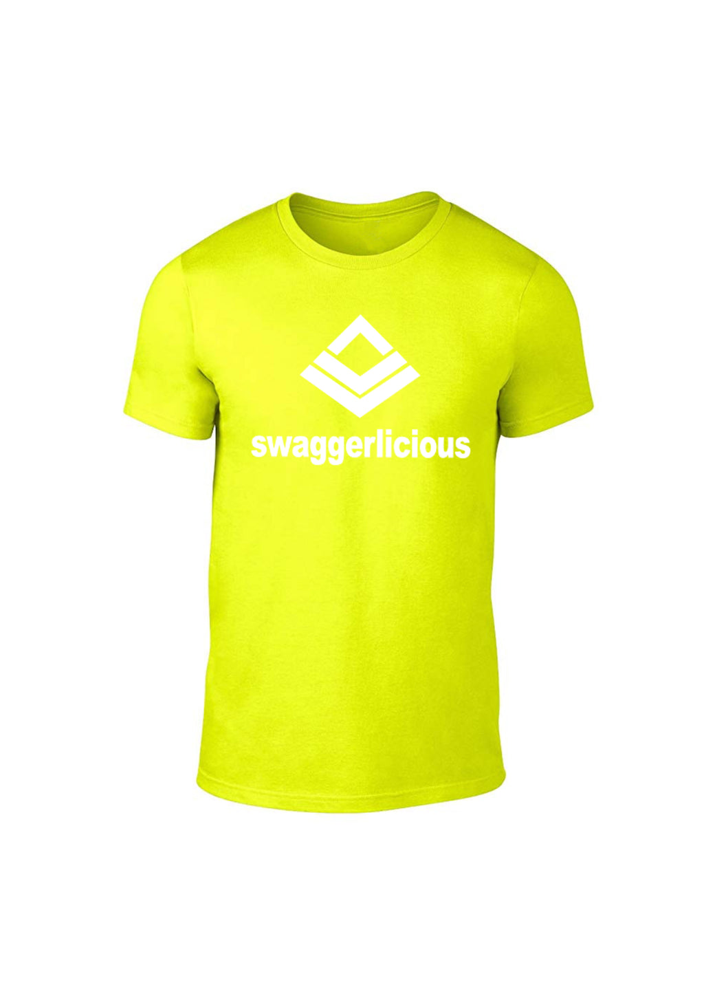 Swaggerlicious Classic Neon Yellow Light Sport Tee - swaggerlicious-clothing.com
