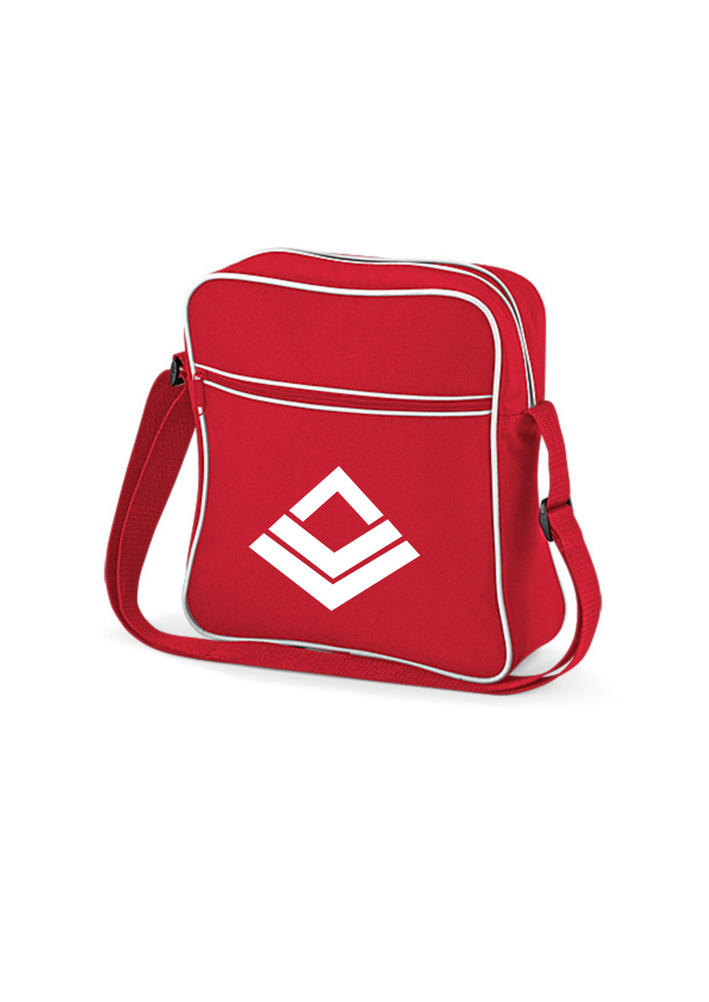 Swaggerlicious Active Red and White Flight Bag - swaggerlicious-clothing.com