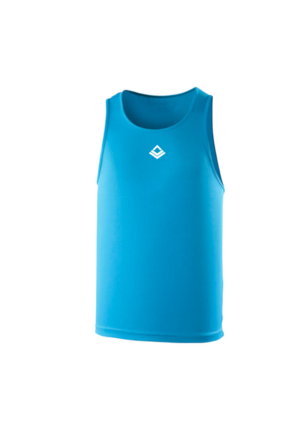 SWAGGERLICIOUS COOL TRAINING TANK TOP-SAPPHIRE - swaggerlicious-clothing.com