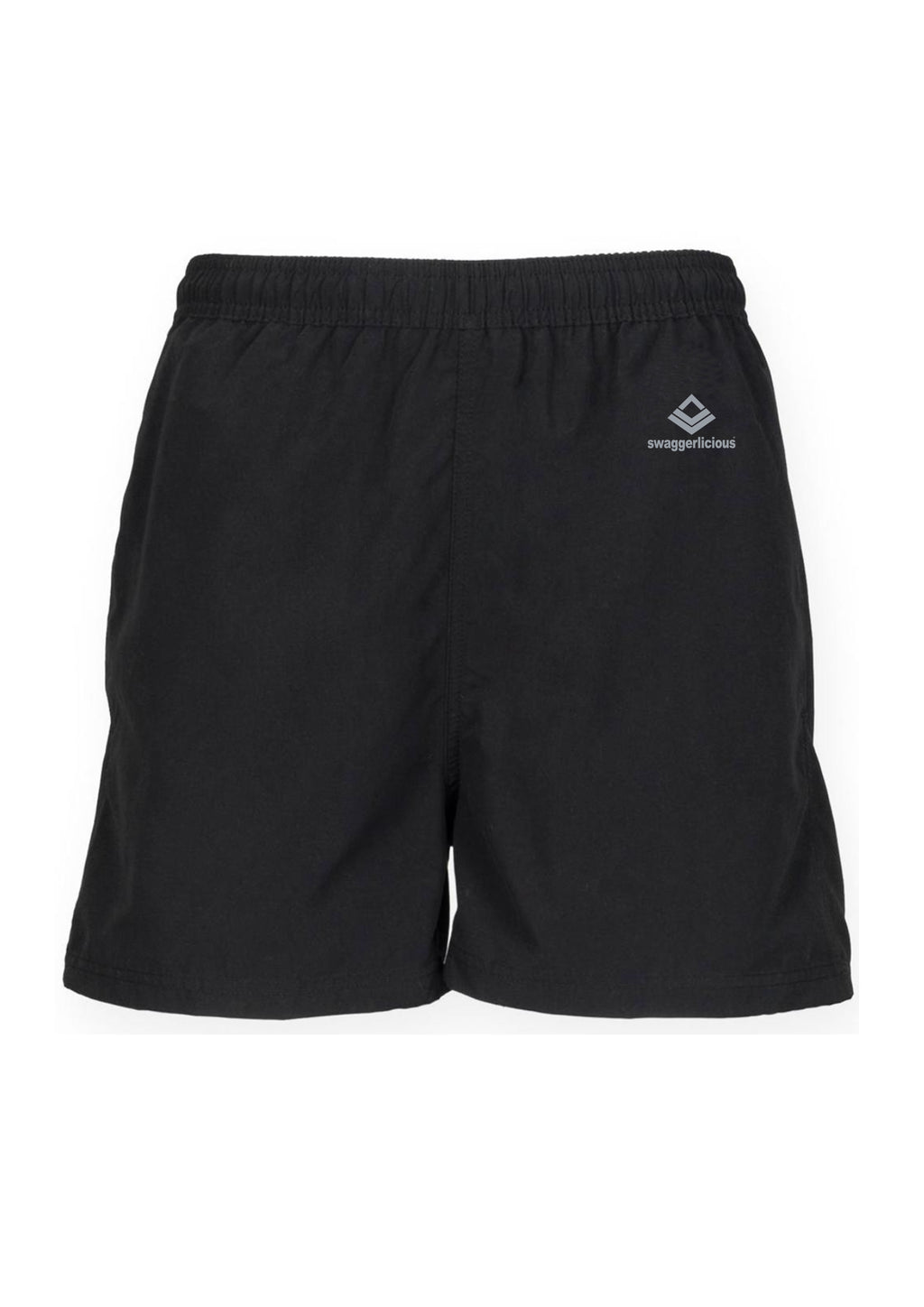 Swaggerlicious Classic Black Track Shorts - swaggerlicious-clothing.com