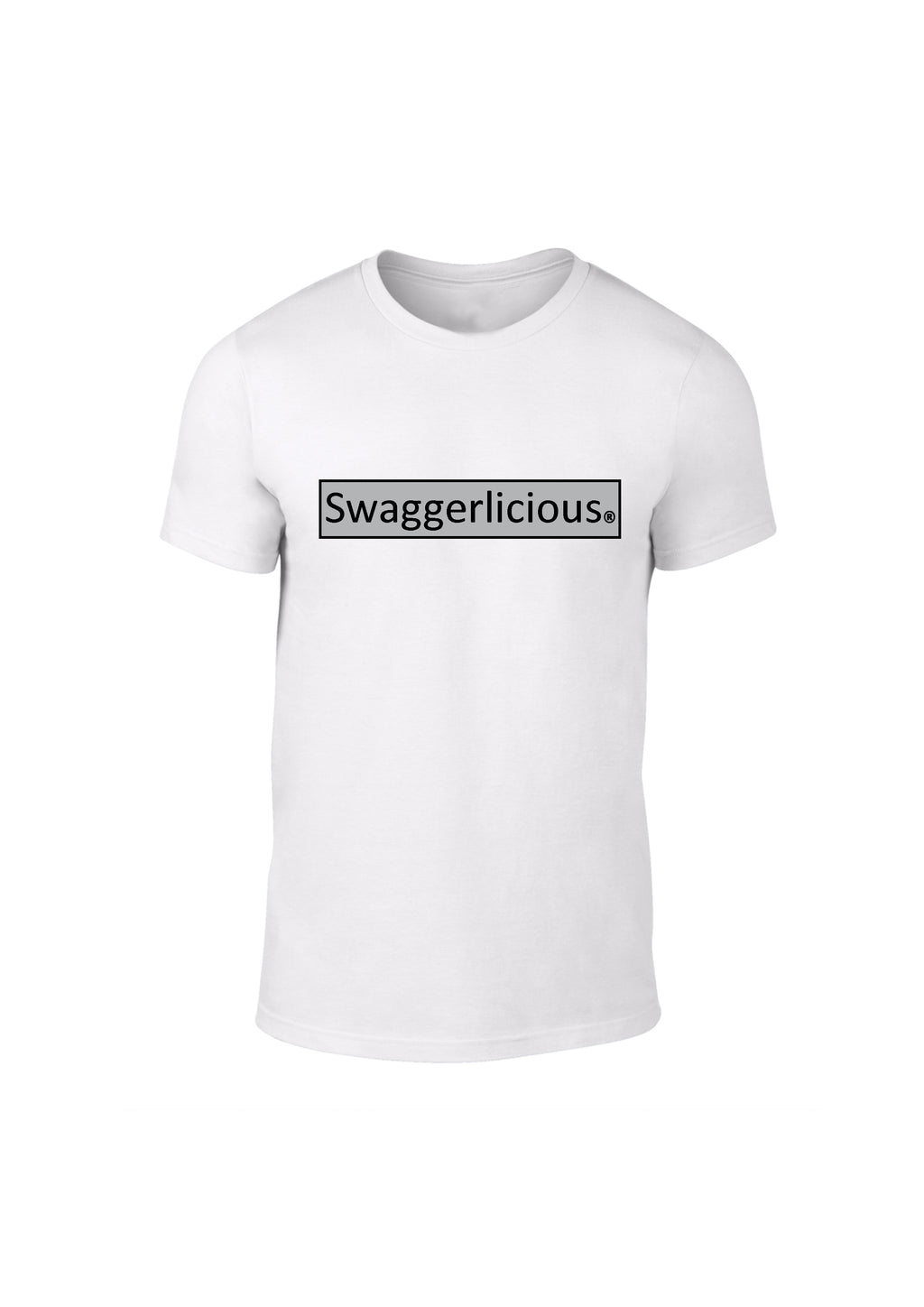 SWAGGERLICIOUS CRISP TEE - WHITE - swaggerlicious-clothing.com