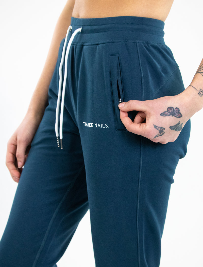 Women's Three Nails® Signature Joggers - Deep Sea