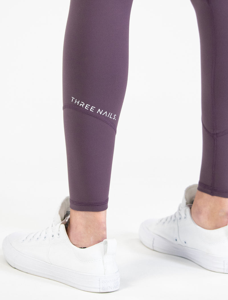 Trinity Leggings - Dusky Plum