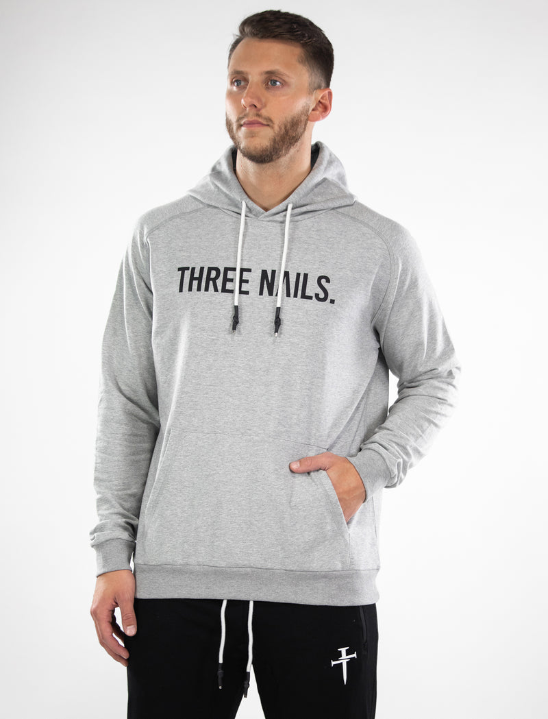 Unisex Elite Hoodie - Heather Grey