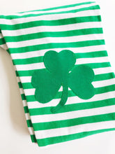 St Patricks Day Shamrock Knee Patch Leggings