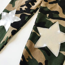 Camo Silver Star Leggings