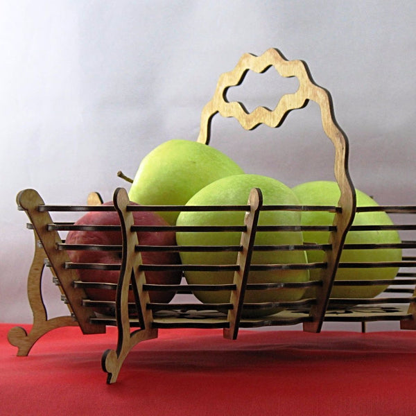 Basket Decorative Wooden Kit
