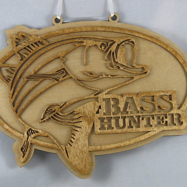 Bass Hunter Plaque