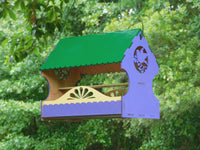 Decorative Bird Cutout Bird Feeder Kit