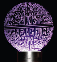 Star Wars (Section 1) 3-D Illusion LED Lamps