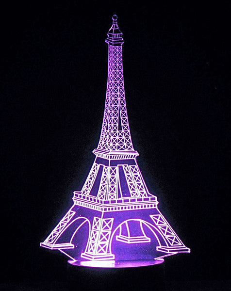 Eiffel Tower LED Desk, Table, Night Lamp