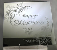 Mother's Day Engraved Mirror Tile