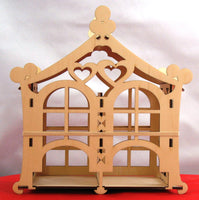 Tea House Double Side Oriental Design Kit