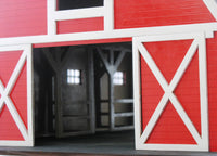 Barn with Stables Birdhouse Kit