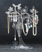 Jewelry Tree Lady Clear Acrylic