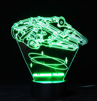 Star Wars (Section 2) 3-D Illusion LED Lamp