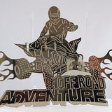Off Road Adventure Mirror Acrylic