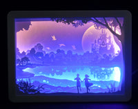 3-D Shadow Box Night Lamp