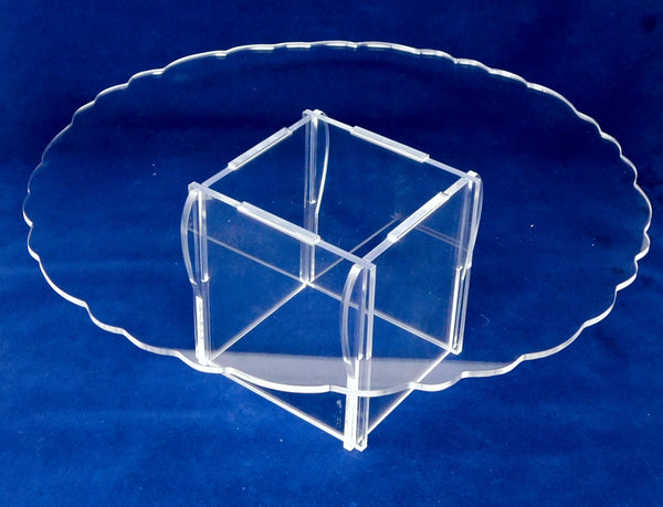 Cake Cupcake Stand Round Square Stand Clear Acrylic