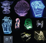 Star Wars (Section 2) 3-D Illusion Smart LED Lamp