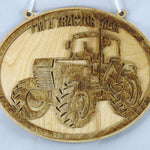 Tractor Man Plaque