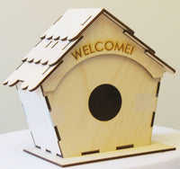 Welcome Home Birdhouse Kit