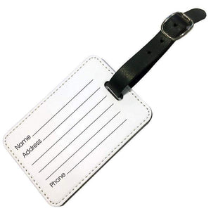 Single Sided Luggage Tag