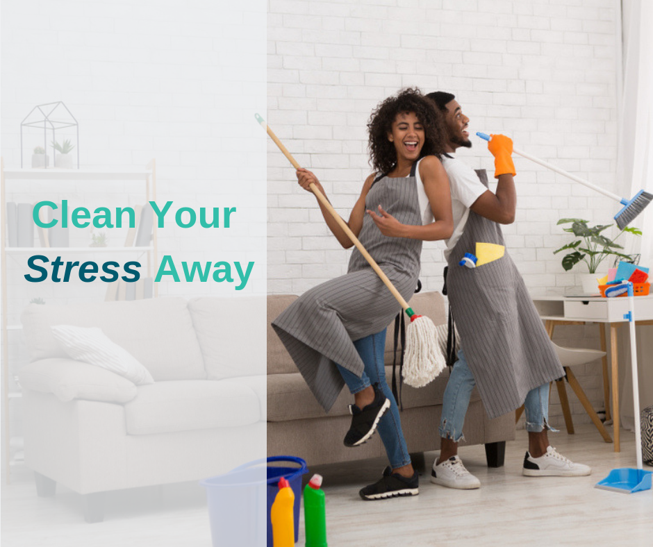 Spring Cleaning Your Stress Away!